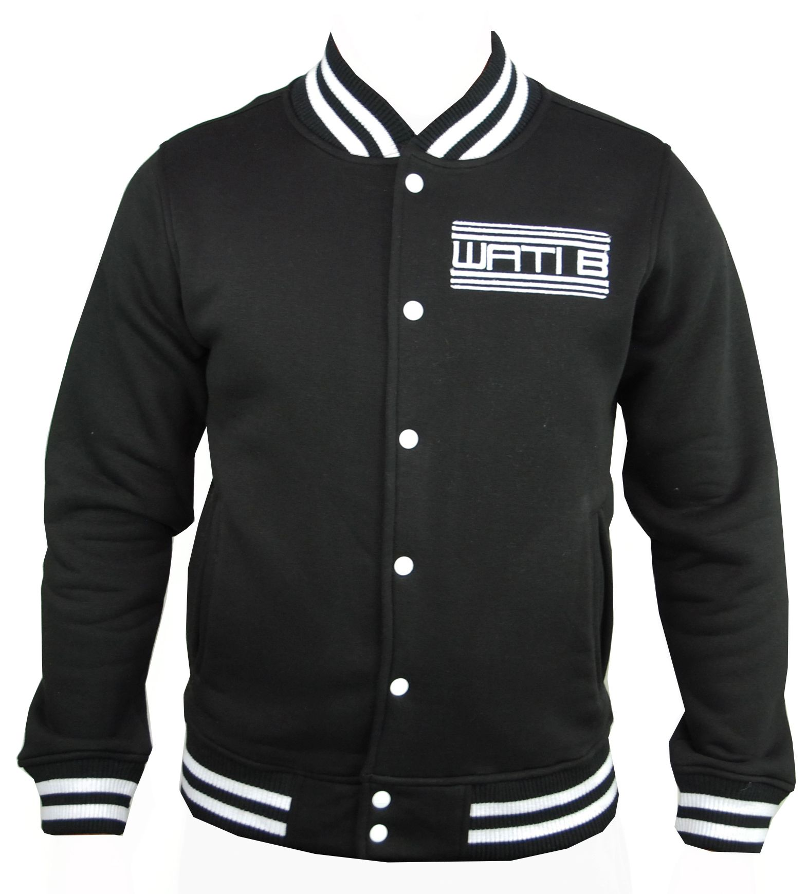 veste teddy wati b enfant noir logo by sexion d 39 assaut ebay. Black Bedroom Furniture Sets. Home Design Ideas